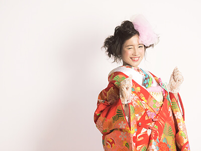 着物(白無垢・色打掛・紋付袴) 熊本・福岡の前撮りフォトウエディングのTHE WEDDING TOWN