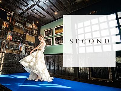 洋装フォトスタジオ-SECOND- 熊本・福岡の前撮りフォトウエディングのTHE WEDDING TOWN