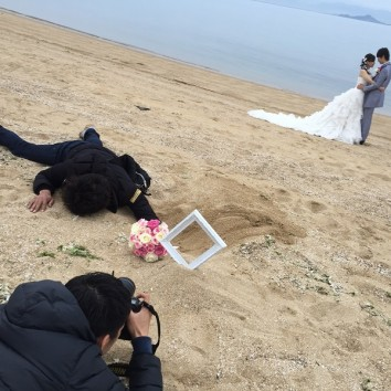 【熊本店 前撮りより】カメラマンシリーズ!
