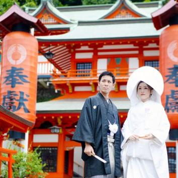 【熊本店 前撮りより】高橋稲荷神社