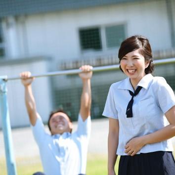 (前撮り 福岡店より) 思い出の学校で♡