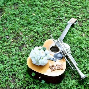 【熊本店 前撮りより】国際結婚!音楽は世界を結ぶ!
