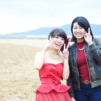 (前撮り 福岡店より) 妹さんと(*^^*)