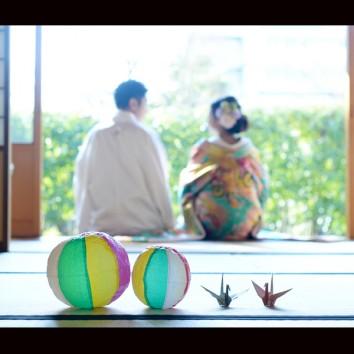 【熊本店 前撮りより】和装と紙風船