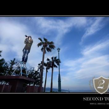 【熊本店 前撮りより】カメラマンの高所撮影