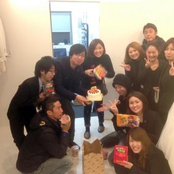 【熊本店より】HAPPY BIRTHDAY!!