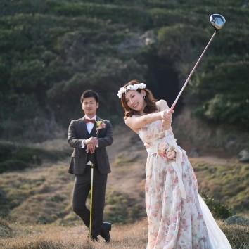 (前撮り 福岡店より) ゴルフ