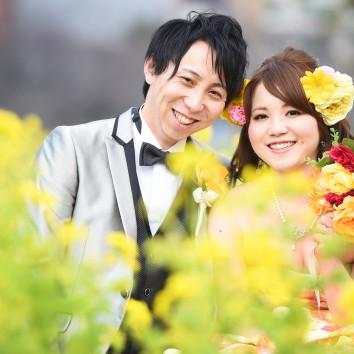 (前撮り 福岡店より) 菜の花