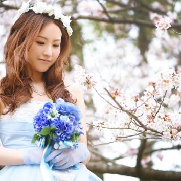 (前撮り 福岡店より) 桜!