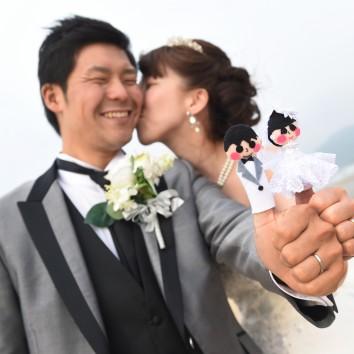 (前撮り 福岡店より)新郎様の力作!!