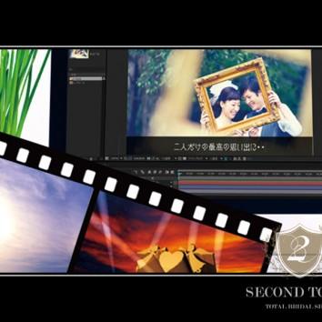 前撮り写真を使った映像製作が大人気!