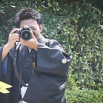 (前撮り 福岡店より) 写真の撮り合い
