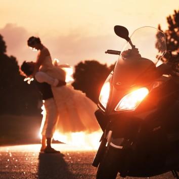 (前撮り 福岡店より) 大好きなバイク