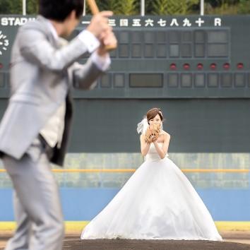 (前撮り 福岡店より) 野球