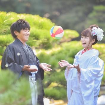 (前撮り 福岡店より) 紙風船
