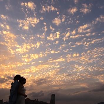 【福岡店 前撮り】夕焼け