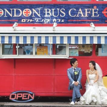 【福岡店 前撮り】ロンドンバス
