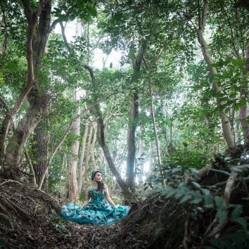 【福岡 前撮り】静かな森で