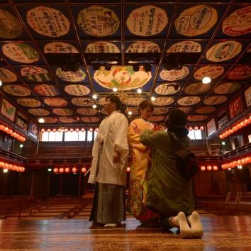 【熊本店 前撮りより】春めく2月末!!海・重要文化財でのロケ撮影♪