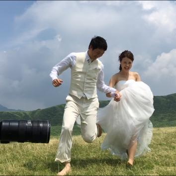 【熊本店 前撮りより】全力疾走!