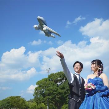 【熊本店 前撮りより】飛行機と思いきや。。