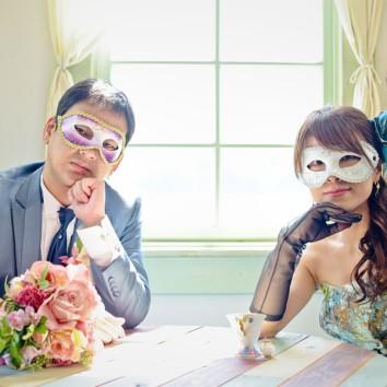 【熊本店 前撮りより】仮面舞踏会