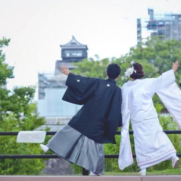 【熊本店 前撮りより】熊本城と