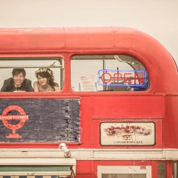 【福岡 前撮り】London Bus Cafe
