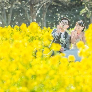 【福岡店 前撮り】一面と黄色!