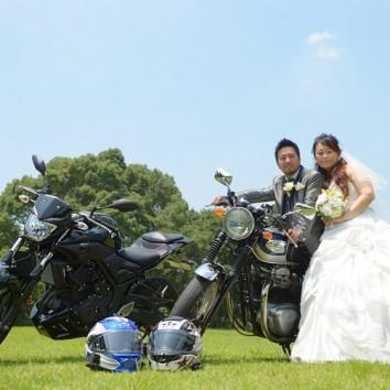 バイクと一緒に!