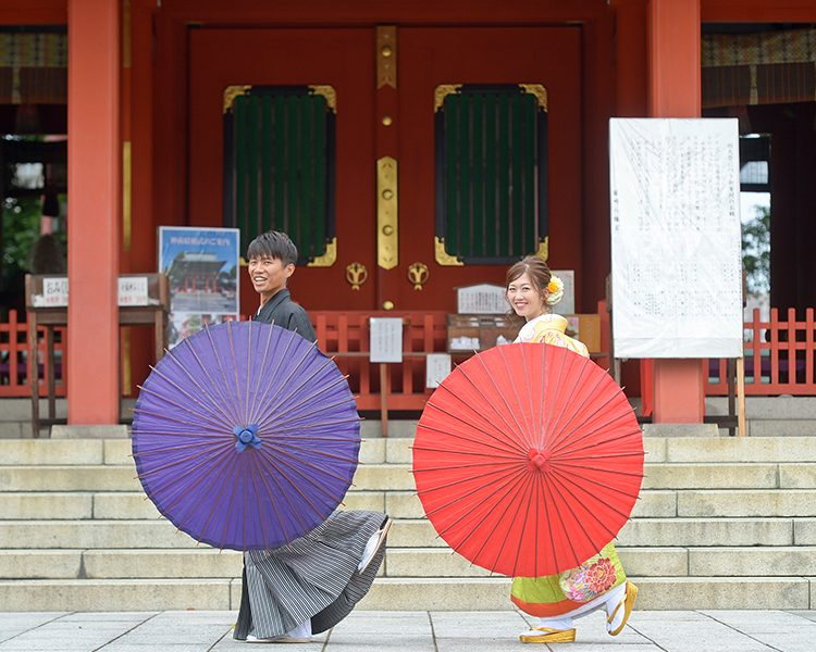 熊本の和装前撮り|熊本の前撮り・フォトウエディングはTHE WEDDING TOWN