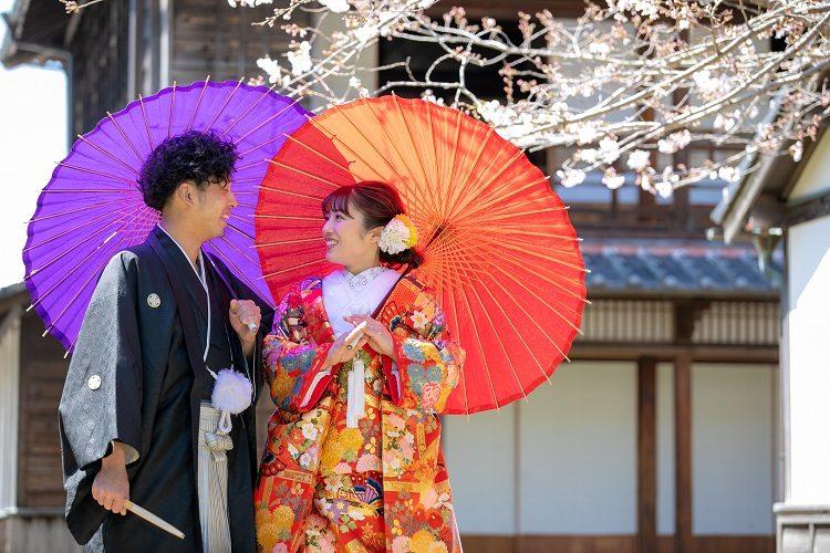 熊本の和装前撮り 熊本の前撮り・フォトウエディングはTHE WEDDING TOWN