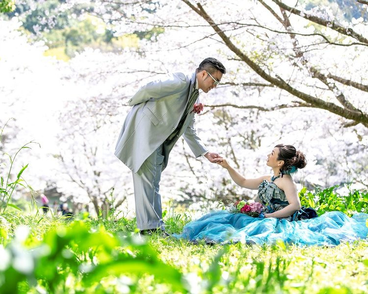 熊本洋装前撮りプラン|熊本の前撮り・フォトウェディングはTHE WEDDING TOWN