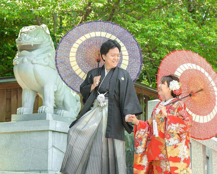 熊本前撮りオススメのロケ地:水健軍神社│熊本の前撮り・フォトウェディングはTHE WEDDING TOWN