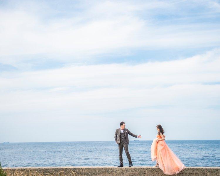 福岡前撮りのオススメロケ地:芥屋の森│福岡の前撮り・フォトウェディングはTHE WEDDING TOWN