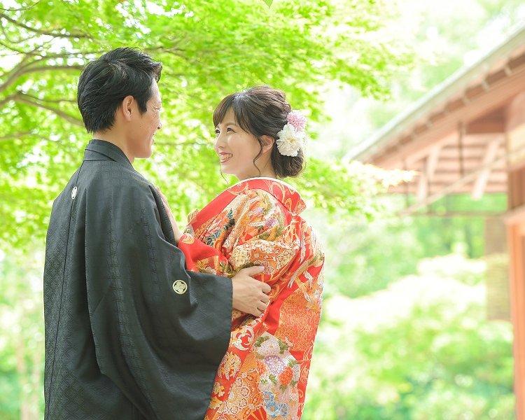 熊本前撮りオススメのロケ地:白川茶室│熊本の前撮り・フォトウェディングはTHE WEDDING TOWN