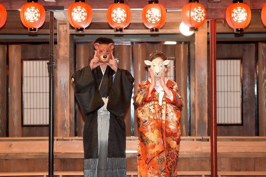 熊本前撮りオススメのロケ地:八千代座│熊本の前撮り・フォトウェディングはTHE WEDDING TOWN