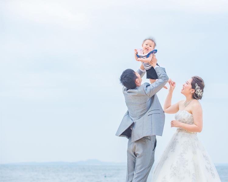 福岡 百道浜で撮影│福岡の前撮り・フォトウェディングはTHE WEDDING TOWN