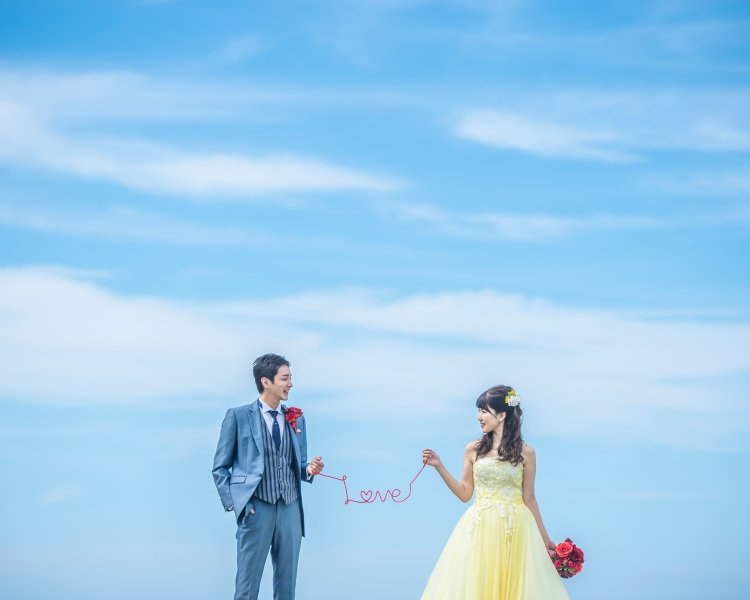 福岡前撮りのオススメロケ地:芥屋の森 │福岡の前撮り・フォトウェディングはTHE WEDDING TOWN