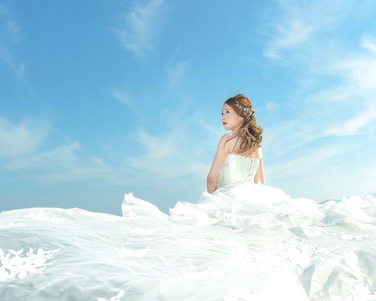 熊本前撮りオススメのロケ地:若宮海水浴場│熊本の前撮り・フォトウェディングはTHE WEDDING TOWN