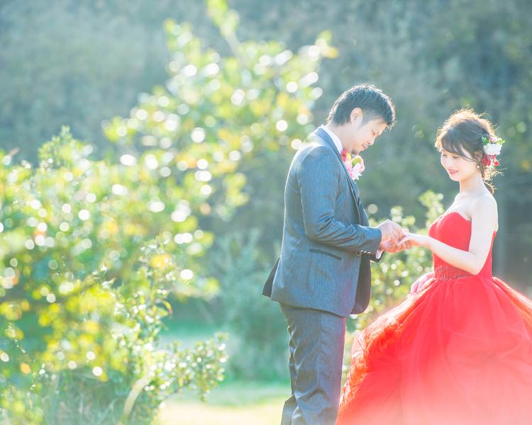 福岡 志賀島での前撮り│福岡の前撮り・フォトウェディングはTHE WEDDING TOWN